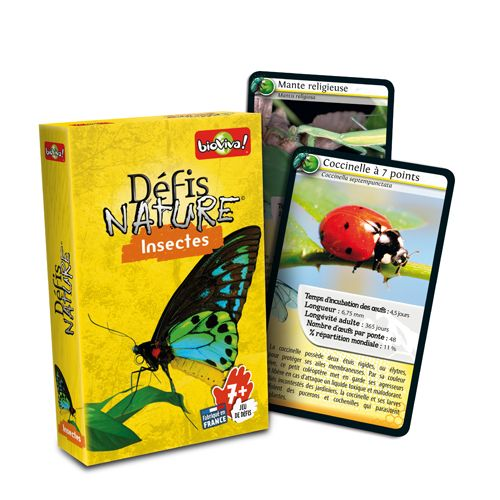 Bioviva DN-INS-001 Defis Nature  Insectes