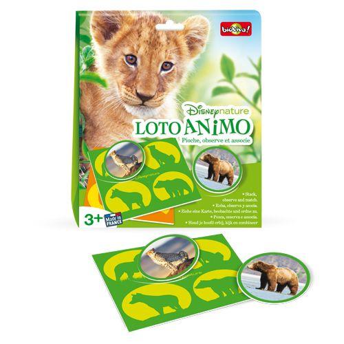 Bioviva DIS-LOTO-002 Disney nature - Loto animaux
