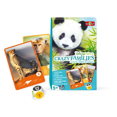 Bioviva DIS-CRAZY-002 Disney nature - Crazy families