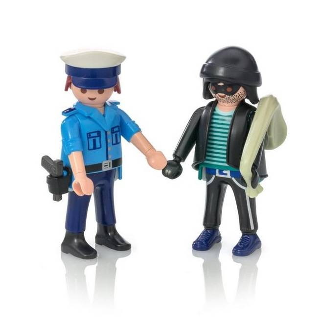 Playmobil Playmobil 9218 Policeman and Burglar