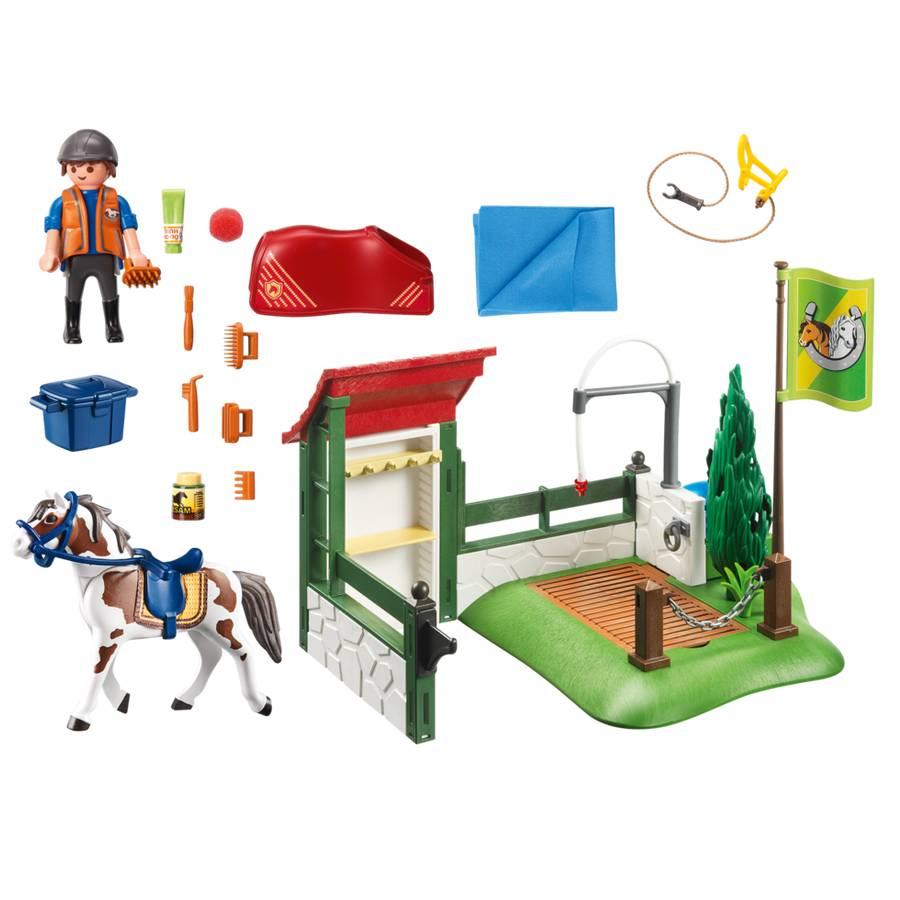 Playmobil Playmobil 6929 Box de Lavage pour Chevaux