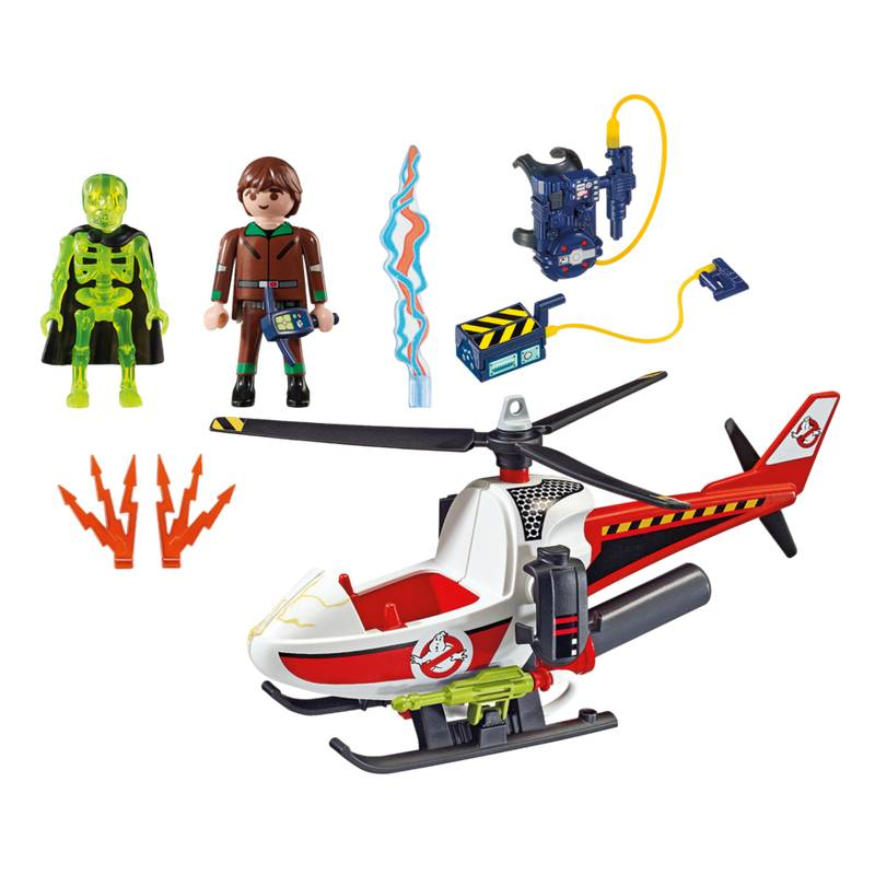 Playmobil Playmobil 9385 Venkman with Helicopter