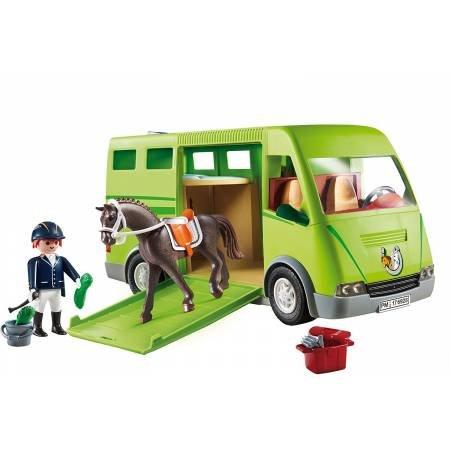 Playmobil Playmobil 6928 Cavalier avec Van et Cheval