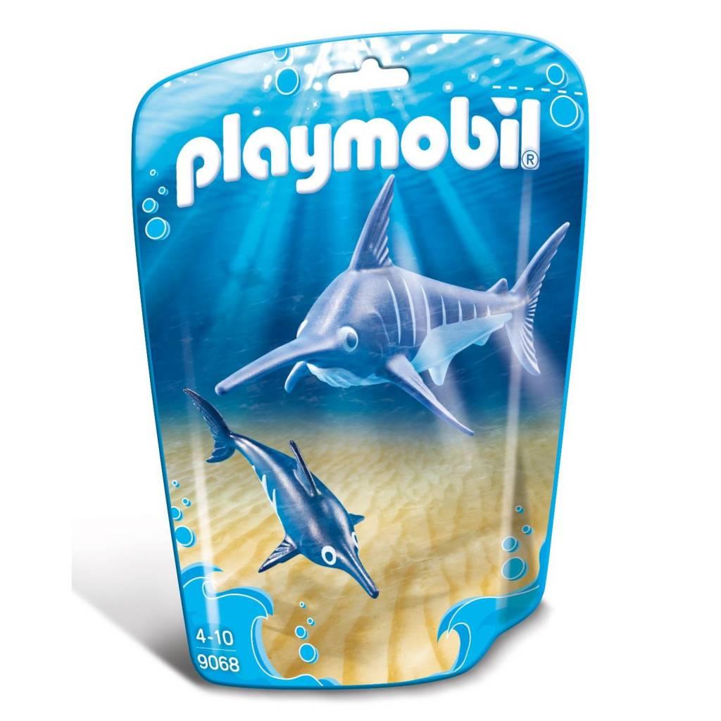 Playmobil Playmobil 9068 Swordfish with Baby