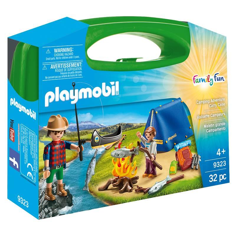 Playmobil Playmobil 9323 Camping Adventure Carry Case