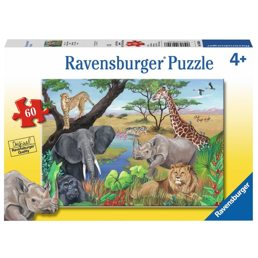 Ravensburger Ravensburger 09600 Safari Animals 60pcs