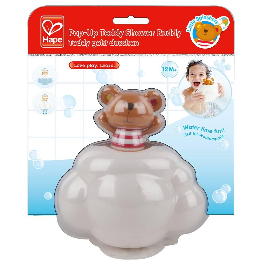 Hape Hape E0202 Pop-Up Teddy Shower Buddy