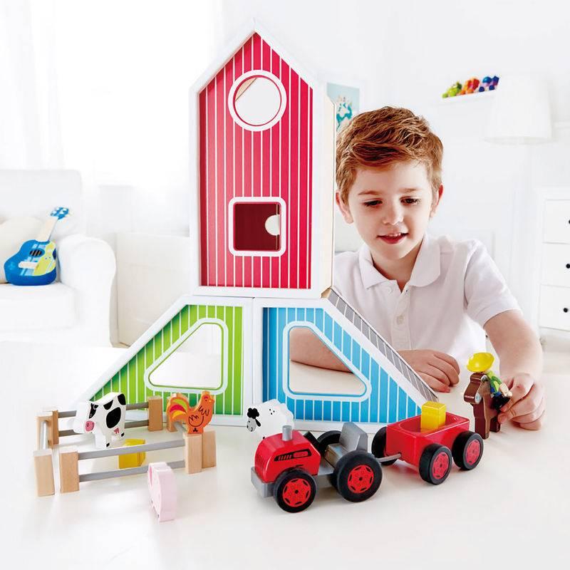 Hape Hape E3015 Barn Play