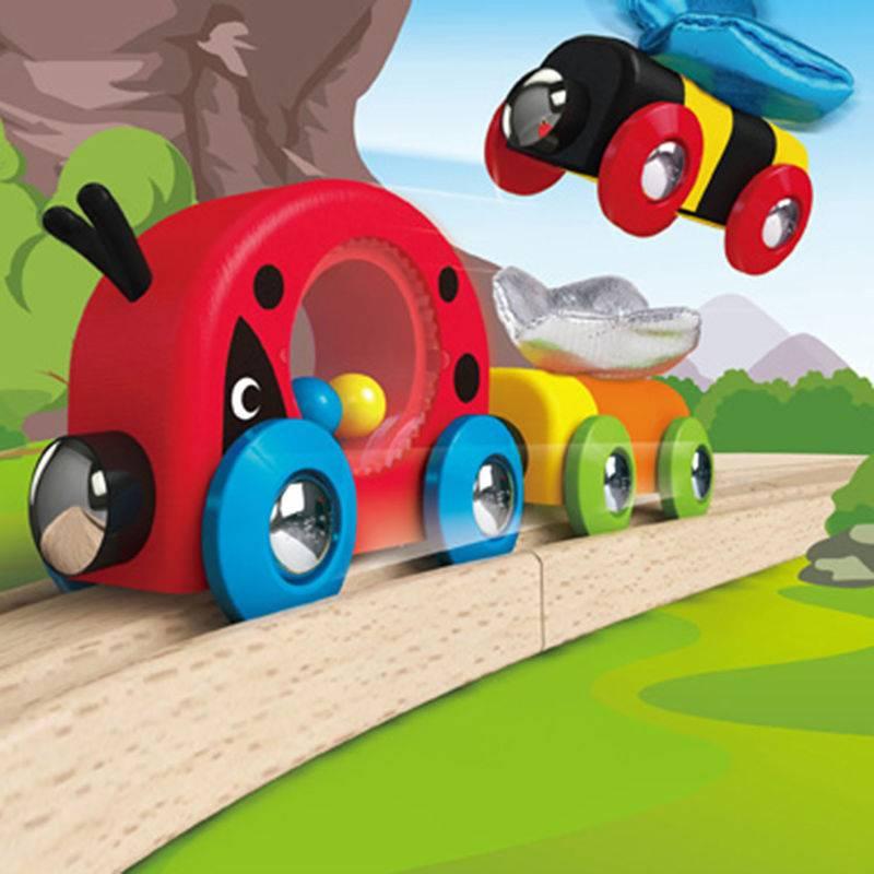 Hape Hape E3806 Lucky Ladybug and Friends Train