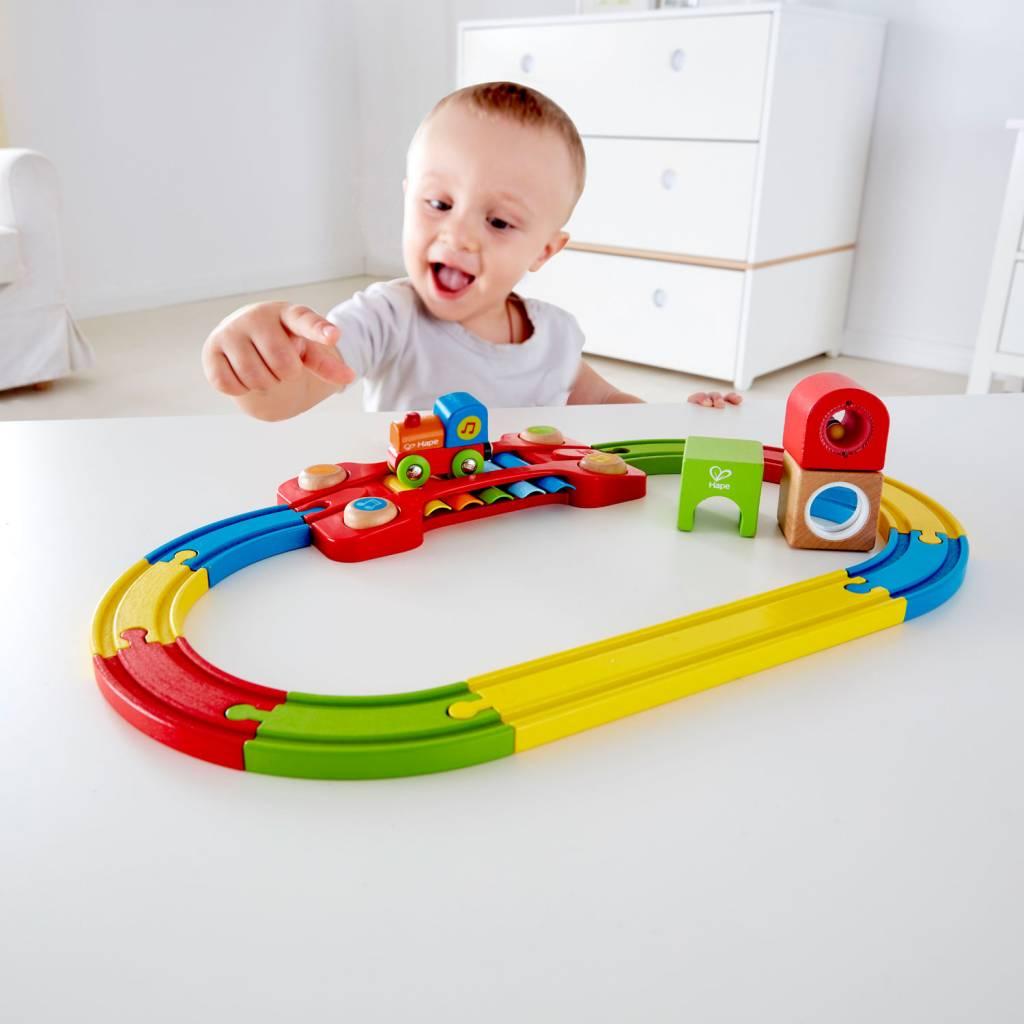 Hape Hape E3822 Train Sensoriel