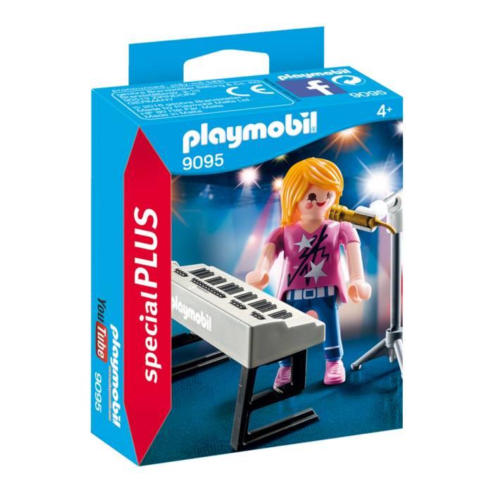 Playmobil Playmobil 9095 Singer with Keyboard