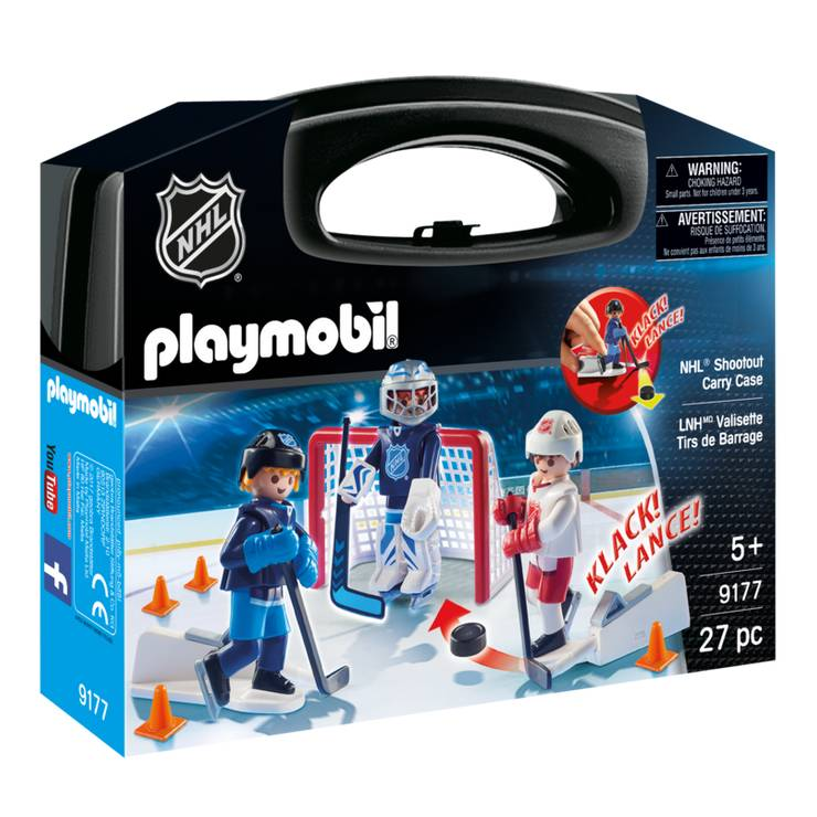 Playmobil Playmobil 9177 NHL Shootout Carry Case
