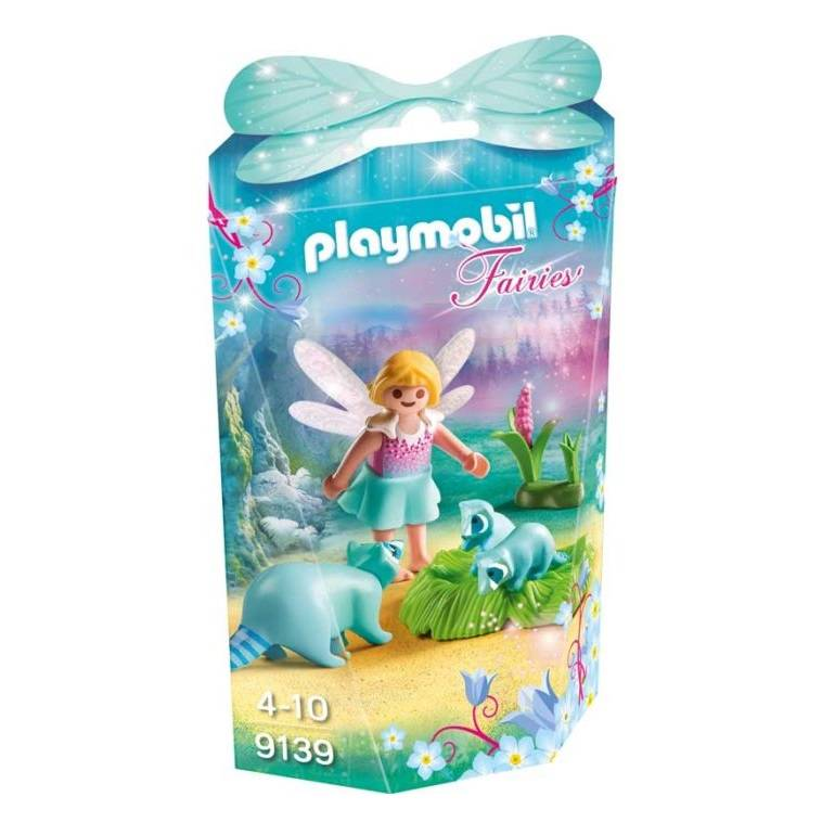 Playmobil Playmobil 9139 Fairy Girl with Raccoons