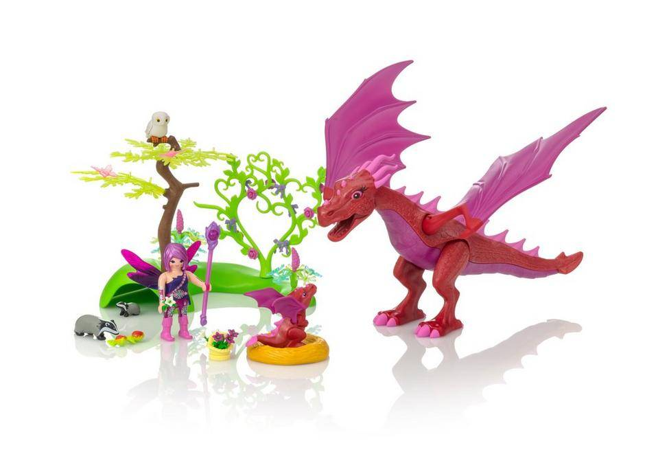 Playmobil Playmobil 9134 Friendly Dragon with Baby