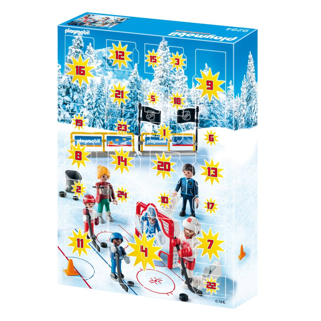 Playmobil Playmobil 9294 NHL Advent Calendar Road to the Cup