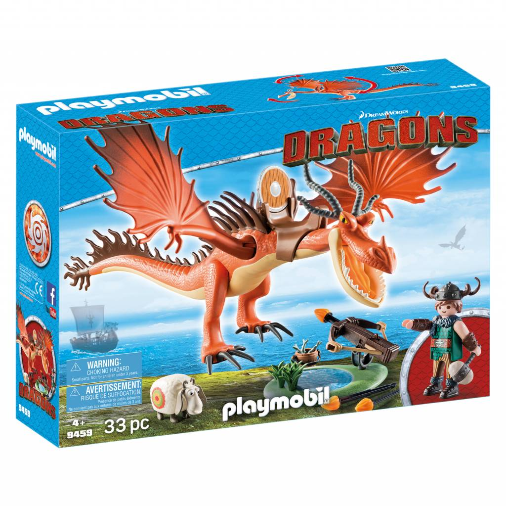 Playmobil Playmobil 9459 Slotnout and Hookfang