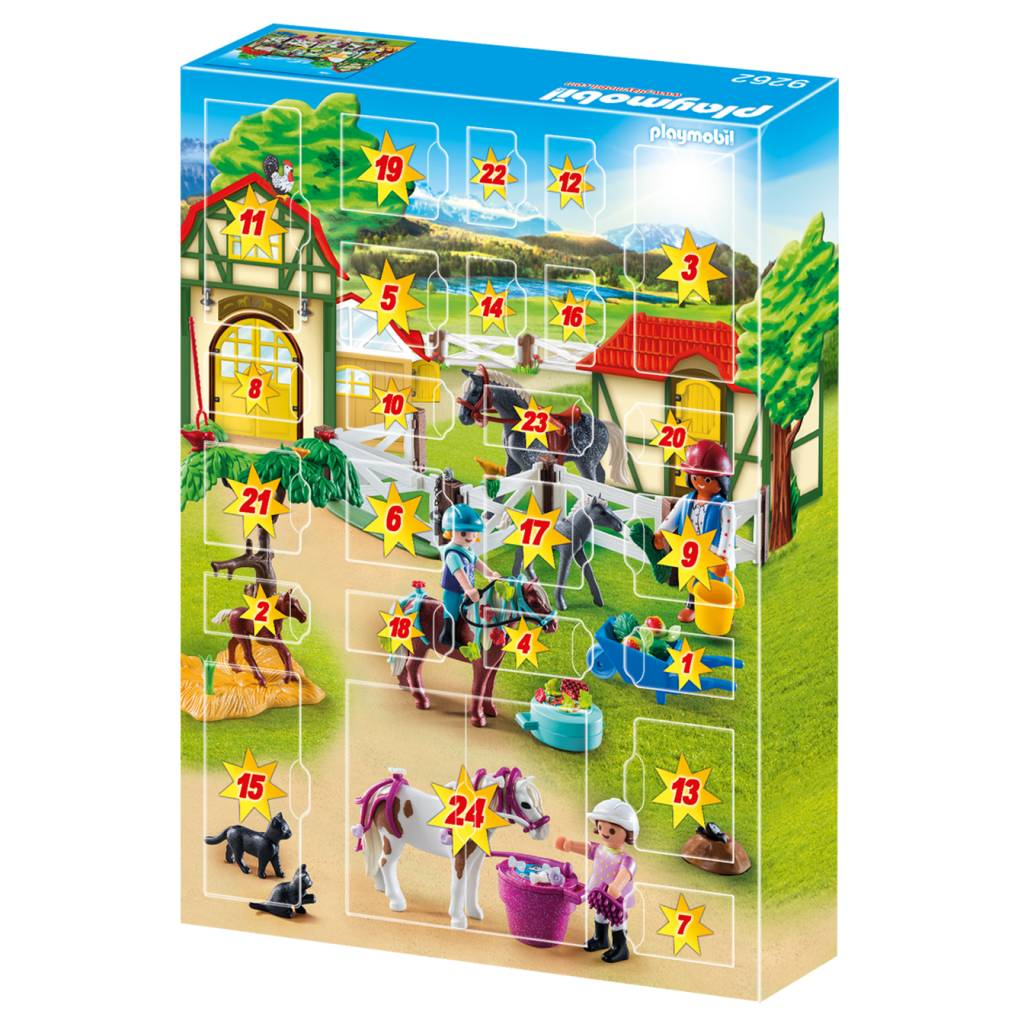 Playmobil Playmobil 9262 Advent Calendar - Horse Farm
