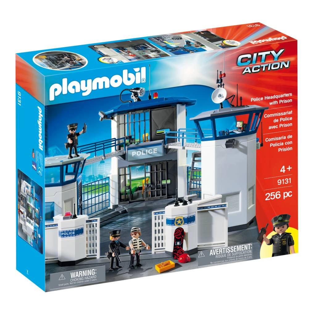 Playmobil Playmobil 9131 Police Headquarters with Prison