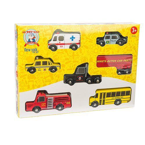 Le Toy Van Le Toy Van TV268 New York Car Set