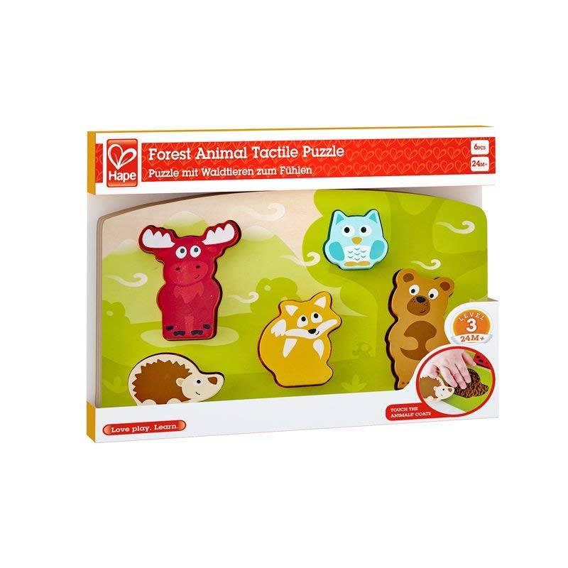 Hape Hape E1621 Forest Animal Tactile Puzzle