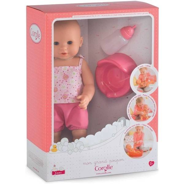 Corolle Corolle FPK23 Emma Drink-and-Wet Baby 36cm