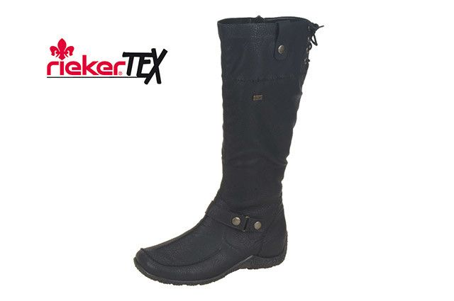 3abfbba891dd Rieker 79963-01 - Chaussures le Depot Pointe-Claire