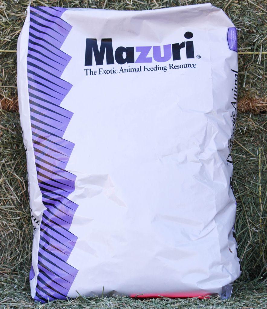 Mazuri Mazuri zoo products tortoise diet 25lbs