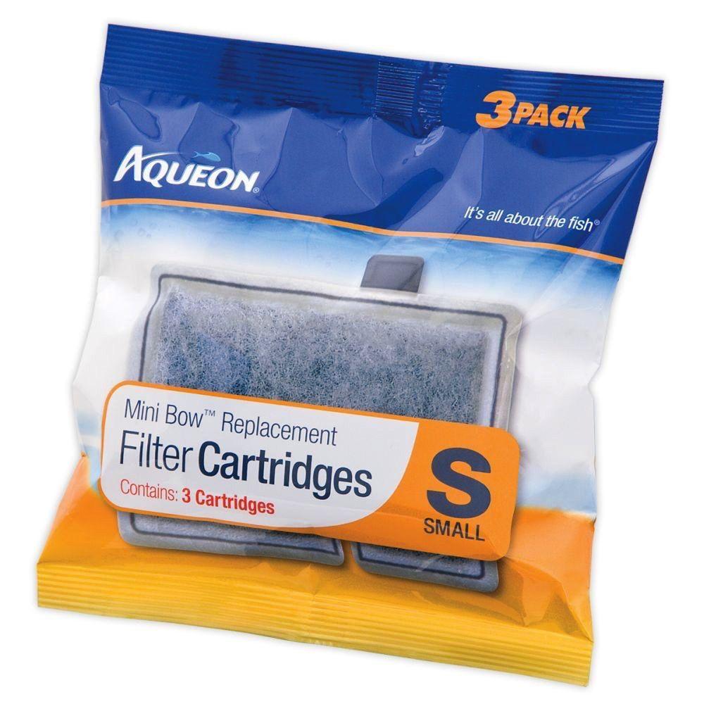AQUEON Aqueon cartridge mini bow 3 pack