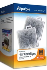 AQUEON Aqueon Replacement Filter Cartridges for QuietFlow 10 Power Filter Medium 12pk