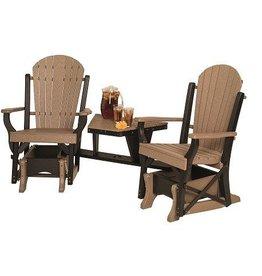 byleru0027s patio fan back angled settee - Glider Chairs