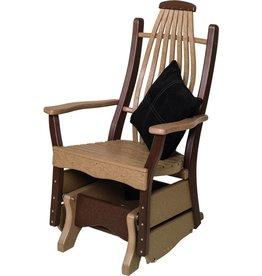 byleru0027s patio bentwood glider - Glider Chairs