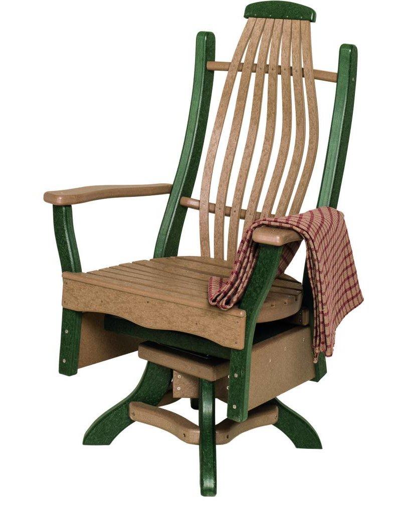 Byleru0027s Patio Bentwood Swivel Arm Chair