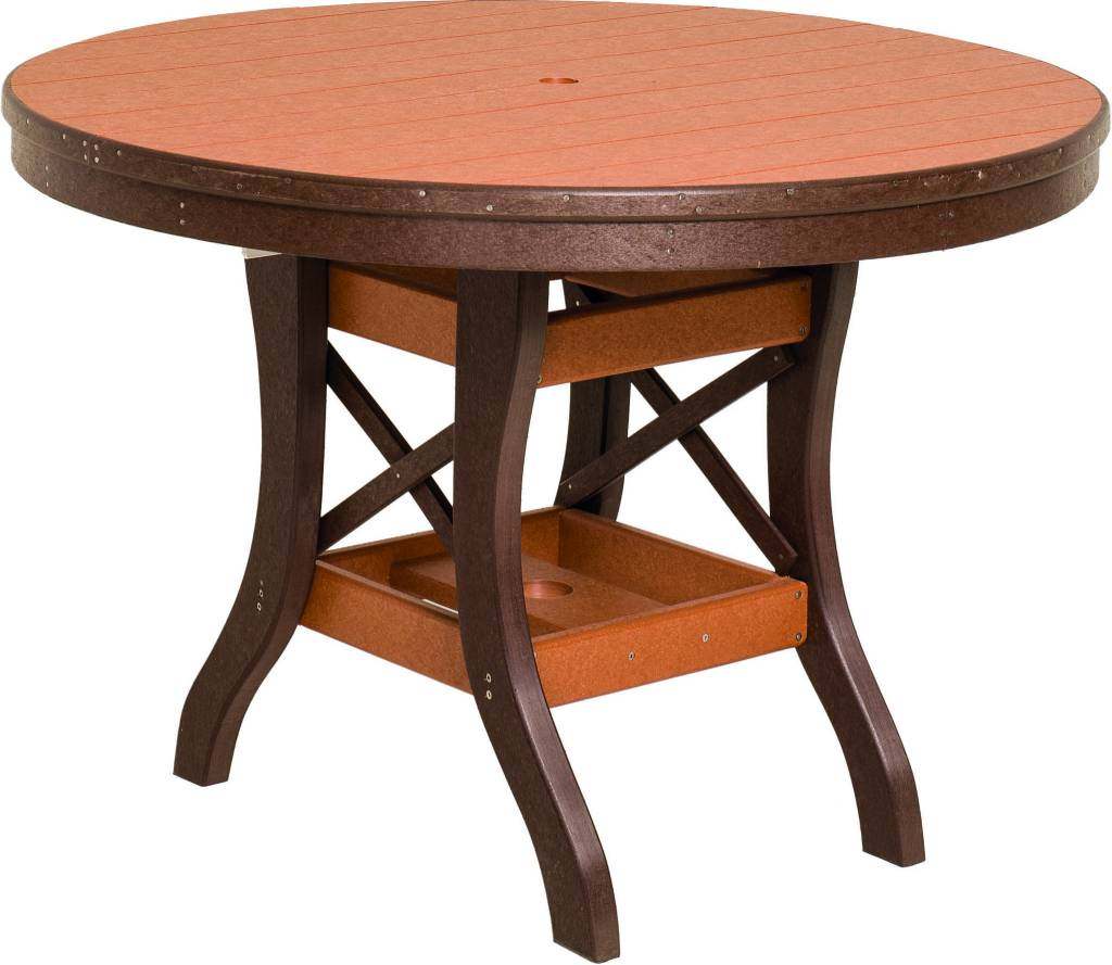 dining tables south texas amish furniture amish furniture at byler s patio round table
