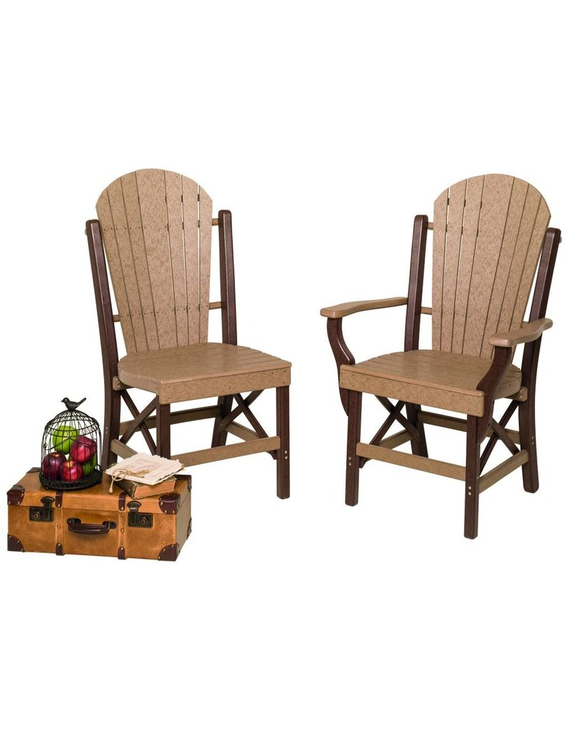 Byleru0027s Patio Fanback Arm And Side Chair