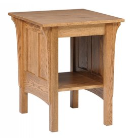 Quality Fabrications Shaker End Table