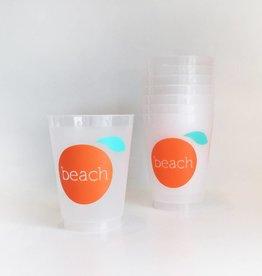 The Orange Beach Store 16 oz Frost Flex Cups/8 count