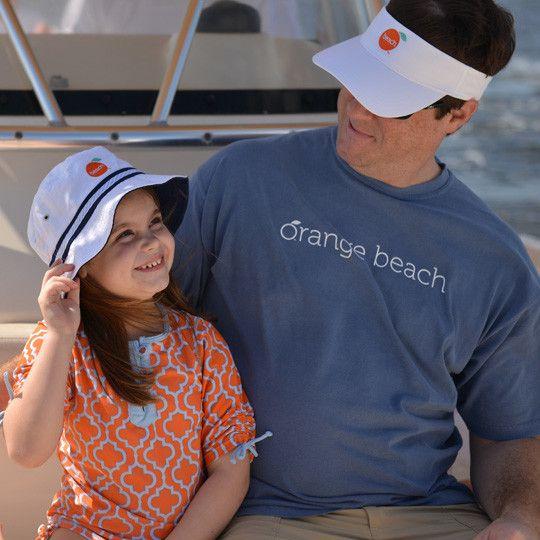 The Orange Beach Store Twill Low-Rise Visor