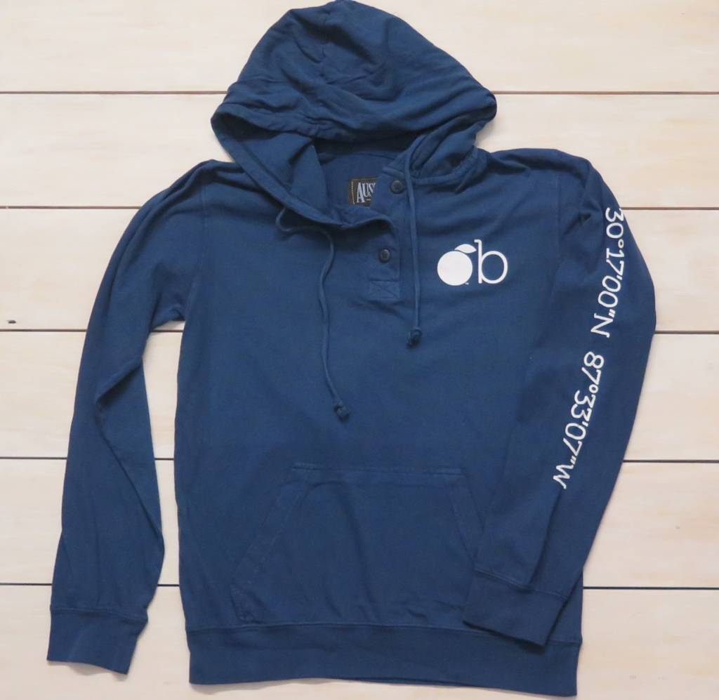 3 Button Hooded Tee