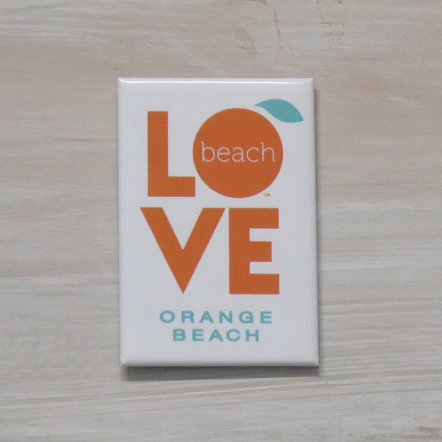The Orange Beach Store Love Magnet