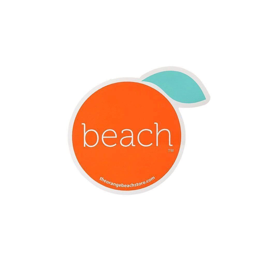 The Orange Beach Store Sticker