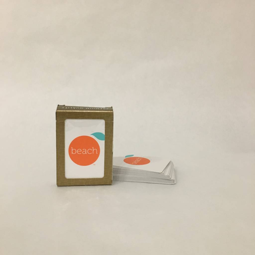 The Orange Beach Store Playing Cards