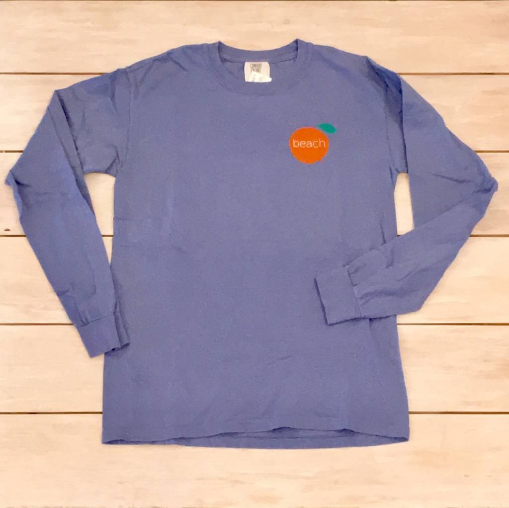 The Orange Beach Store Long Sleeve Island T-Shirt