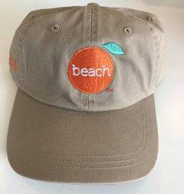 Khaki Velcro Cap