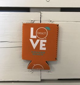 The Orange Beach Store Love Koozie