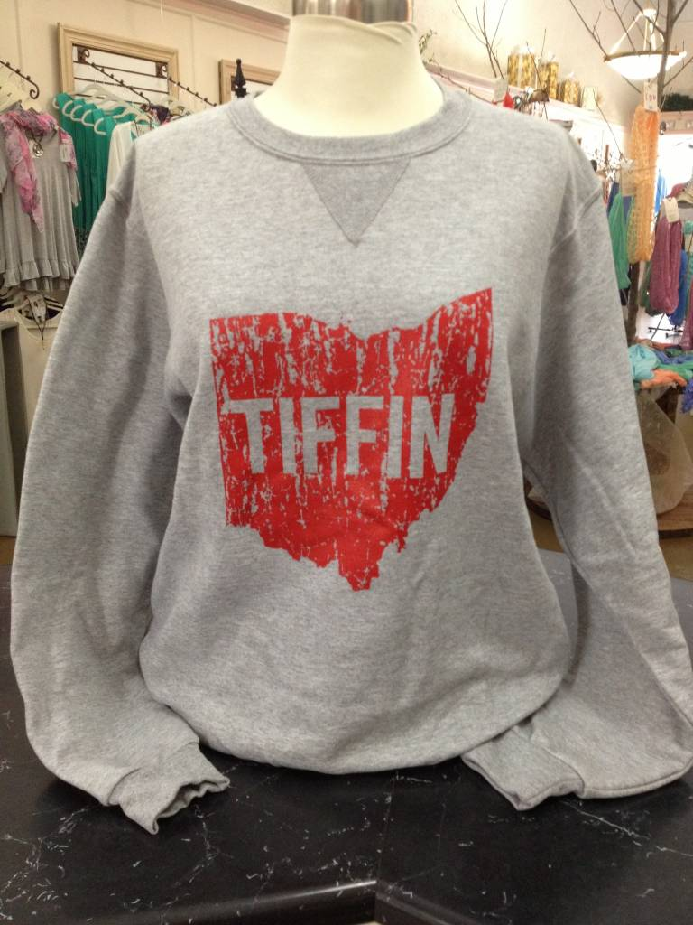 Ohio Tiffin Red Crewneck