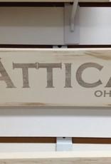 Attica 4x12 Grey/Cream Sign