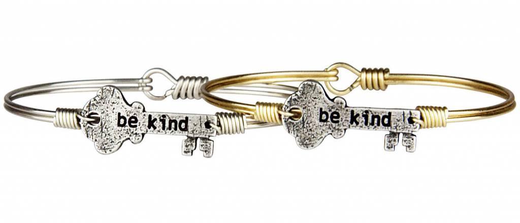 Be Kind Key Silver