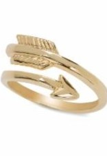 Embrace The Journey Gold Ring