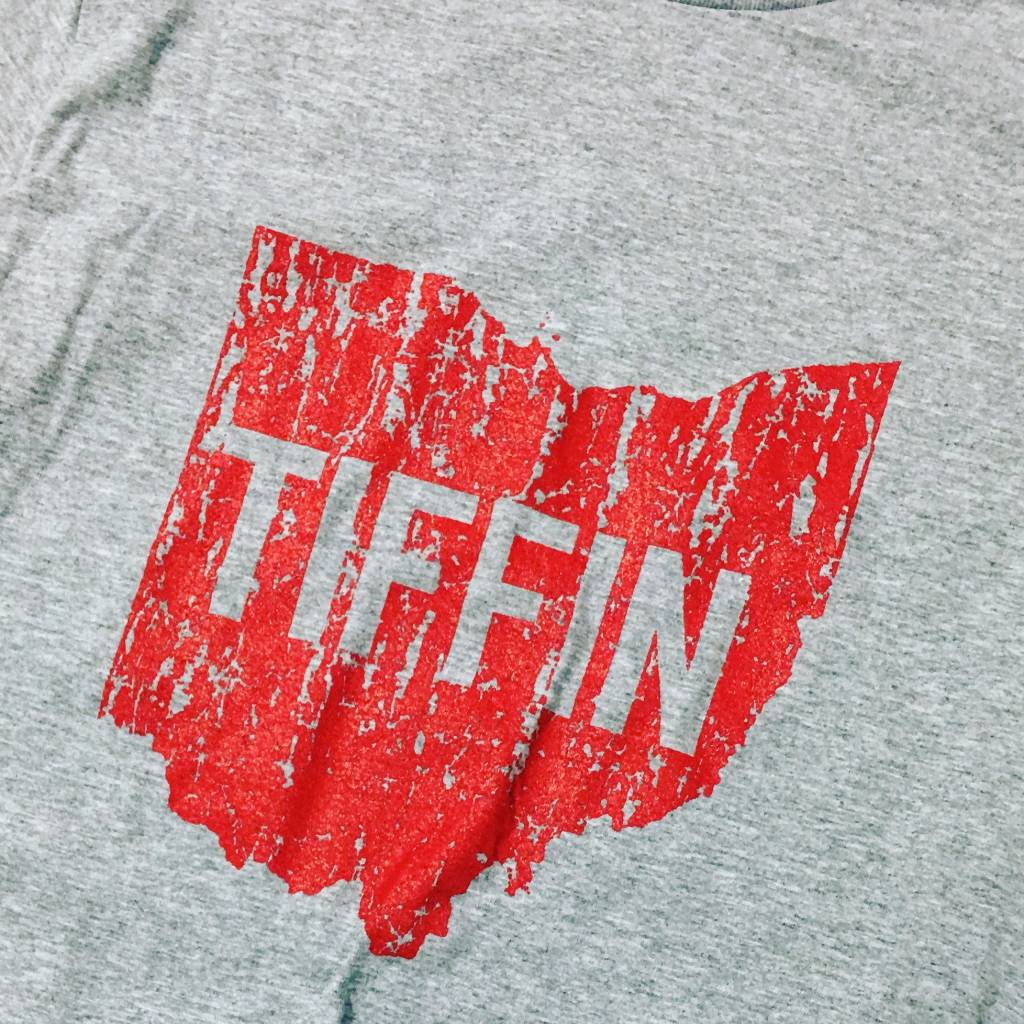 Tiffin Ohio Red Long Sleeve