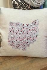 12x12 Ohio Pillow Erin